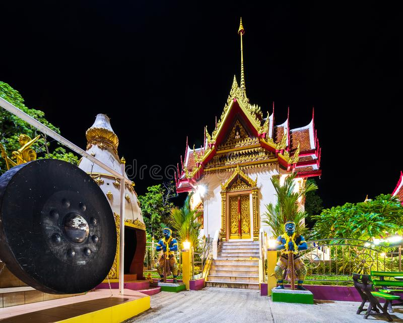 Wat KAron Temple. Is a budhist temple in Karon, Phuket, Thailand royalty free stock photos