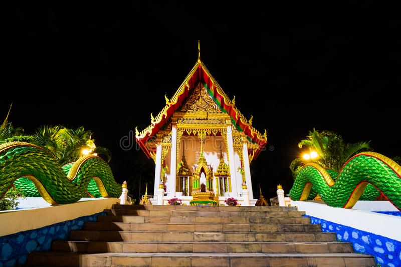 Wat Karon Temple. Is a budhist temple in Karon, Phuket, Thailand stock photos