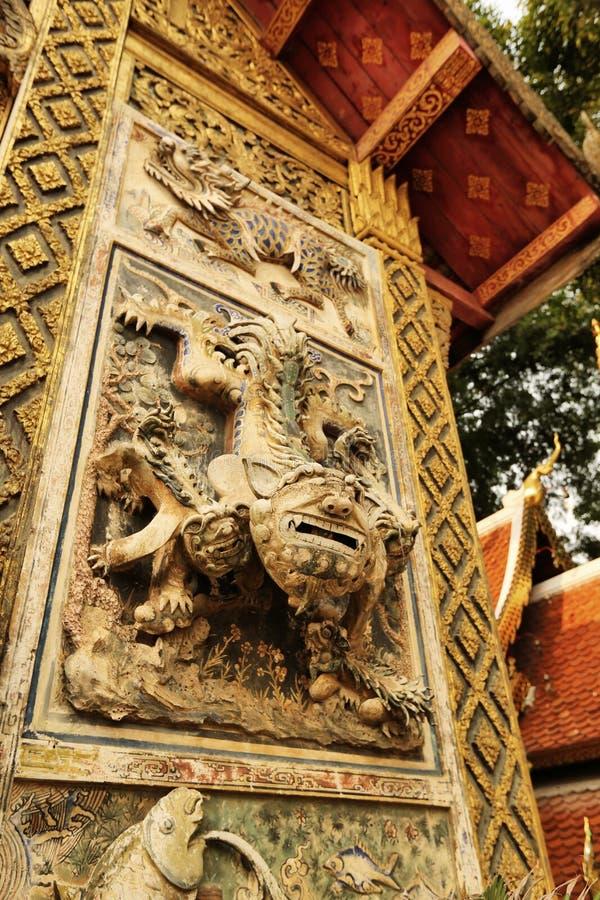 Wat Ket Karam immagine stock