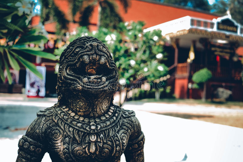 Wat Khanon photo libre de droits