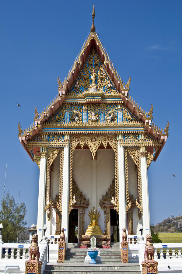 Download Wat Khao Lan Thom stock image. Image of asia, temple - 17089759