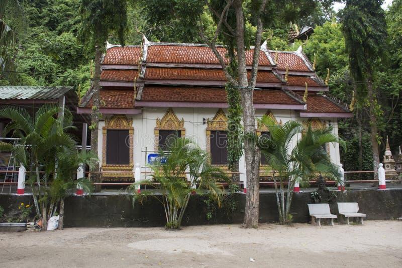 Wat Khao Orr in Phatthalung, Tailandia fotografie stock libere da diritti