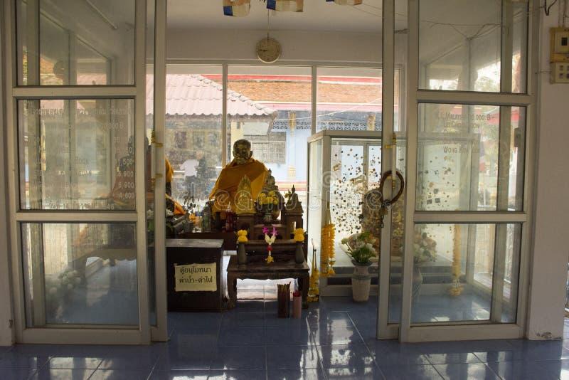 Wat Khao Orr in Phatthalung, Tailandia immagini stock