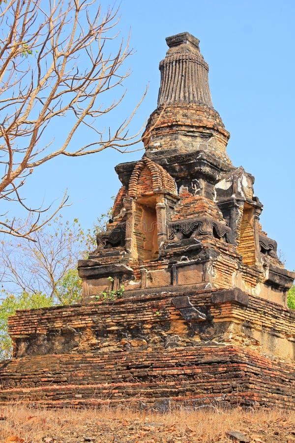 Wat Khao Phra Bat Noi, Sukhothai, Thaïlande images stock