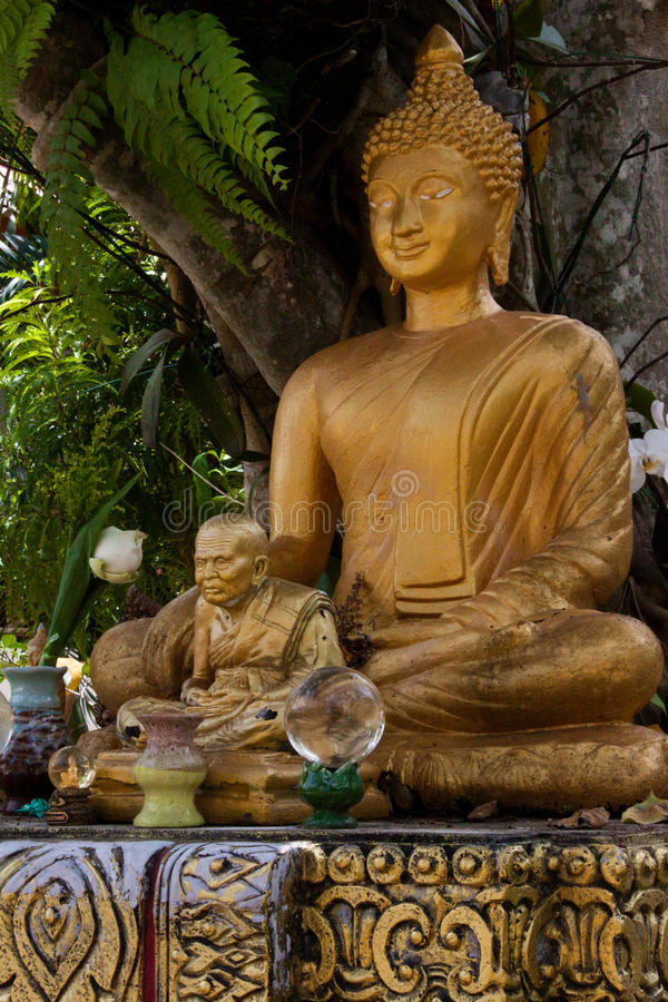 Wat Khong Karam, Naton, Samui, Tailandia fotografie stock