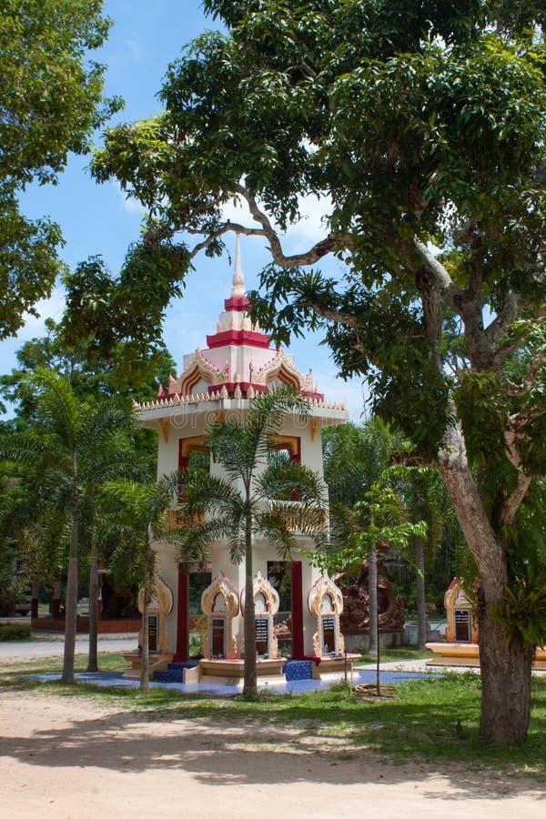 Wat Khong Karam, Naton, Samui, Tailandia immagini stock libere da diritti