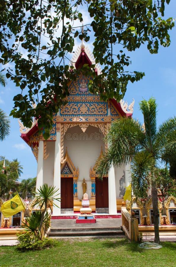 Wat Khong Karam, Naton, Samui, Tailandia immagine stock libera da diritti