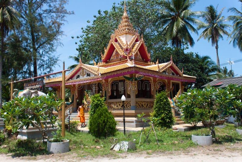 Wat Kiri Wongkaram Taling Ngam, Samui, Thailand royaltyfria bilder