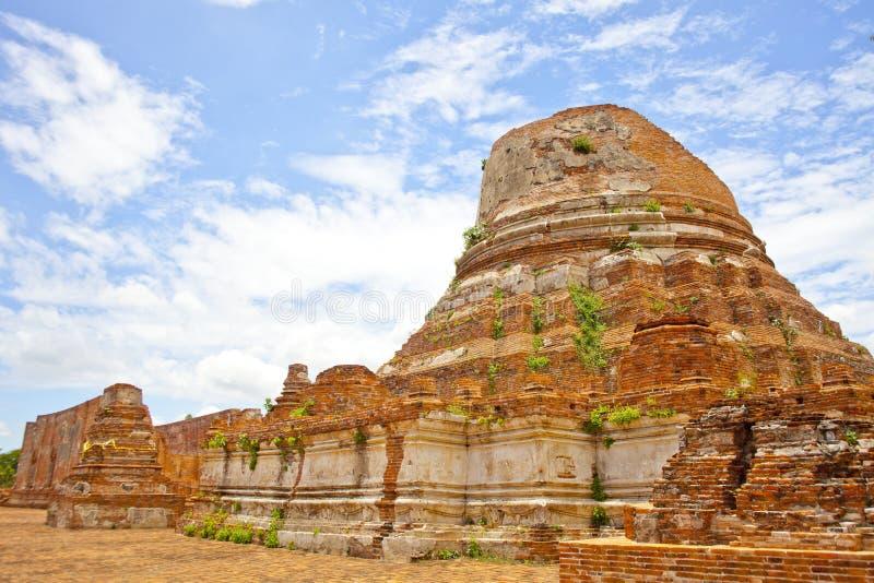 Wat Kudi Dao, Ayutthaya στοκ φωτογραφίες