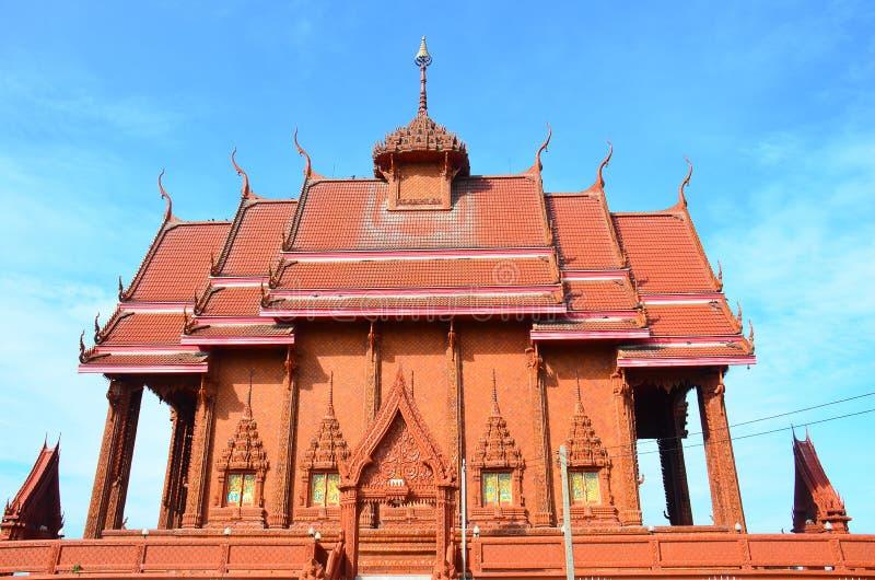 Wat Kwan Sa Arrd at Chachoengsao, Thailand stock images
