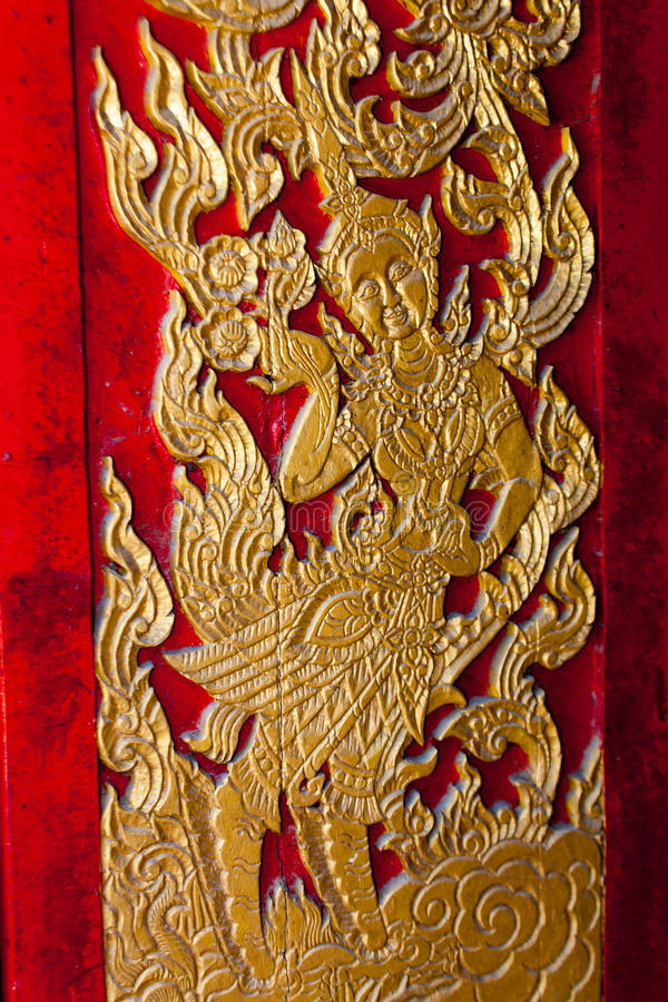 Wat Lamai e Corridoio culturale, Koh Samui, Tailandia fotografie stock libere da diritti