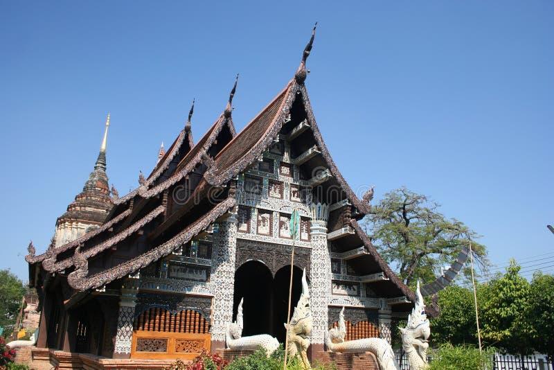 Wat Lok Molee, Chiang Mai, Thailand royalty free stock photo