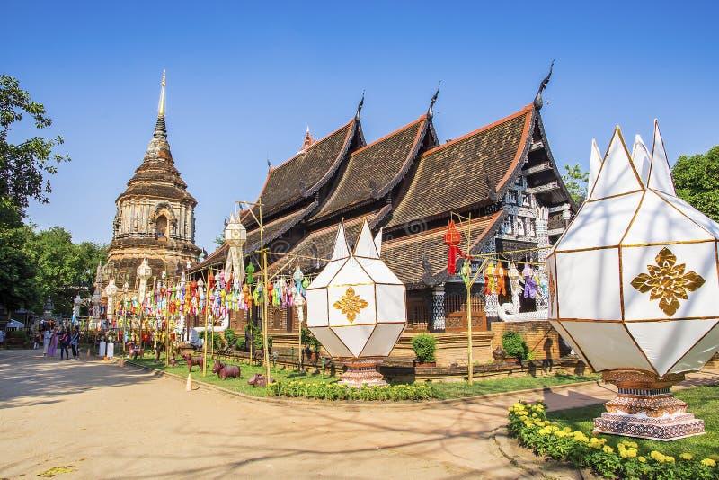 Wat Lok Molee, Chiangmai, Tha?lande image stock