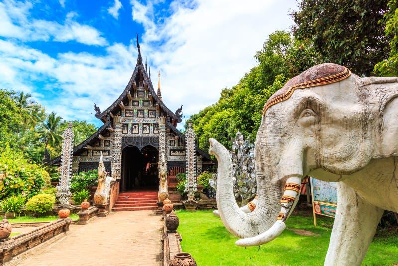 Wat Lok Molee, Tailandia imagen de archivo