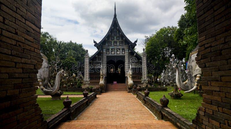 Wat Lok Moli, Chiang Mai, Tailândia imagem de stock