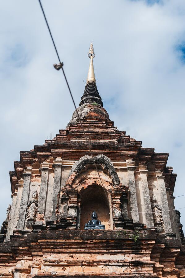 Wat Lok Moli temple in Chiang Mai royalty free stock images