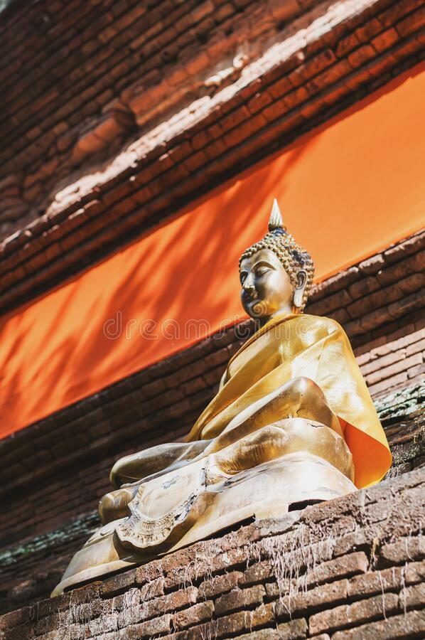 Wat Lok Moli temple in Chiang Mai stock photos