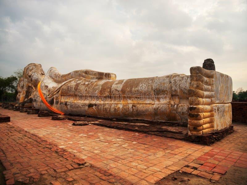 Wat Lokayasutharam, Ayutthaya στοκ φωτογραφίες