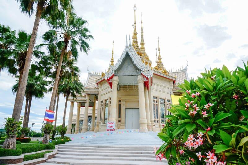 Wat Luang Pho To a placé dans Nakhon Ratchasima (Korat) Thaïlande images libres de droits