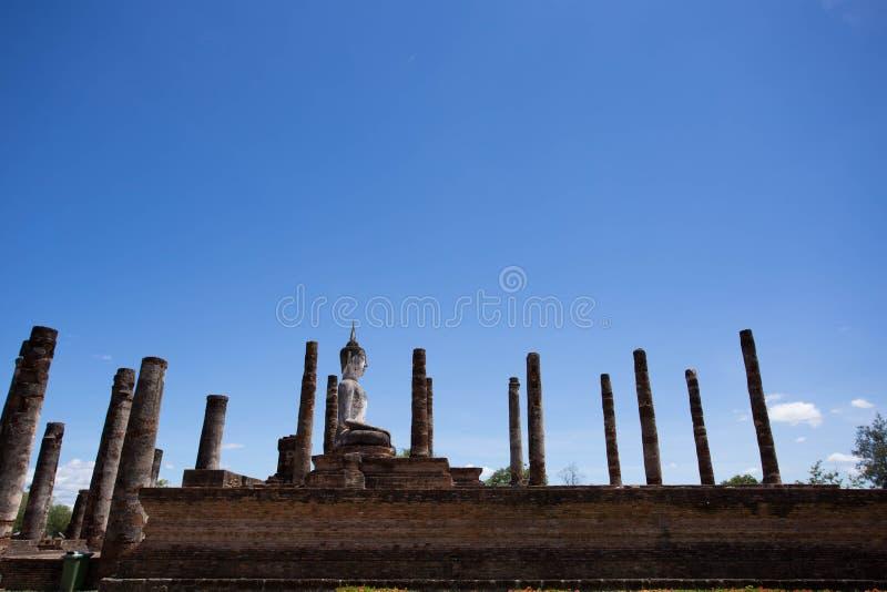 Wat Mahatat,历史公园 免版税库存照片