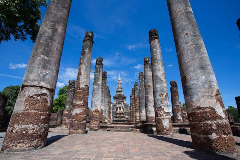 Wat Mahatat, исторический парк стоковые изображения