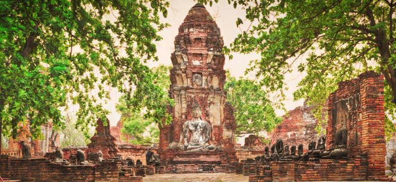 Wat Mahatat arkivbilder