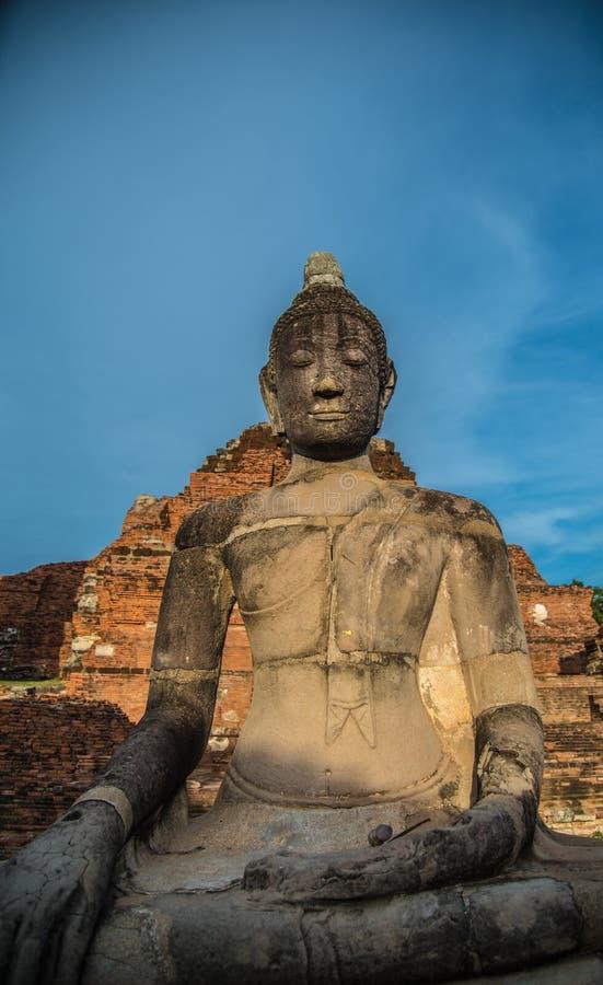 Wat Mahathat (świątynia Wielkie relikwie) obrazy stock