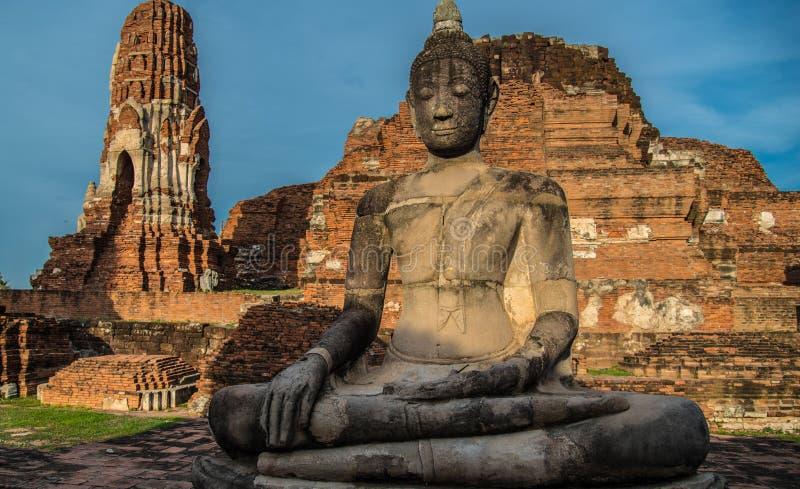 Wat Mahathat (świątynia Wielkie relikwie) zdjęcia stock
