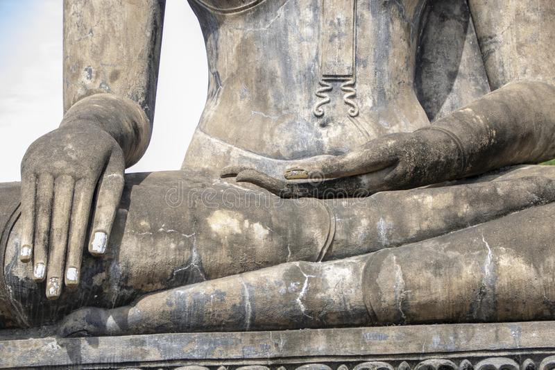 Wat Mahathat 免版税图库摄影