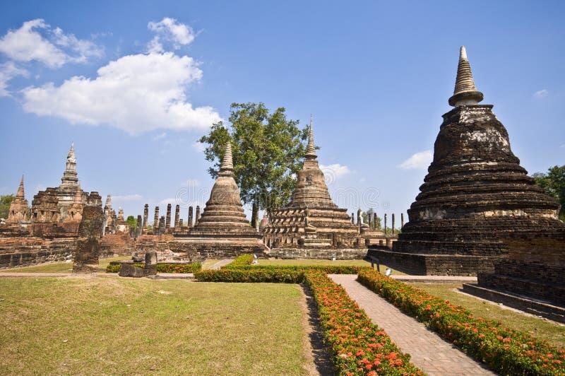 Wat Mahathat immagini stock libere da diritti