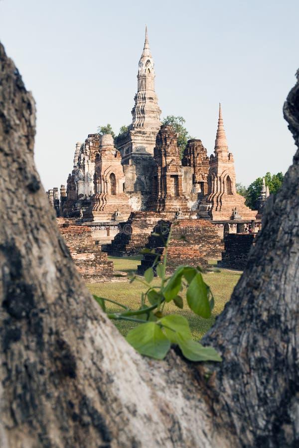 Wat Mahathat стоковое фото rf