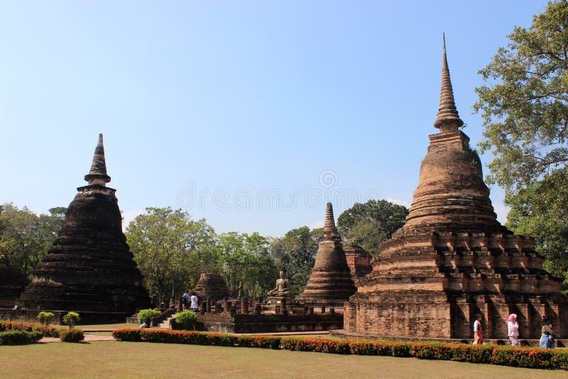 Wat Mahathat lizenzfreies stockfoto
