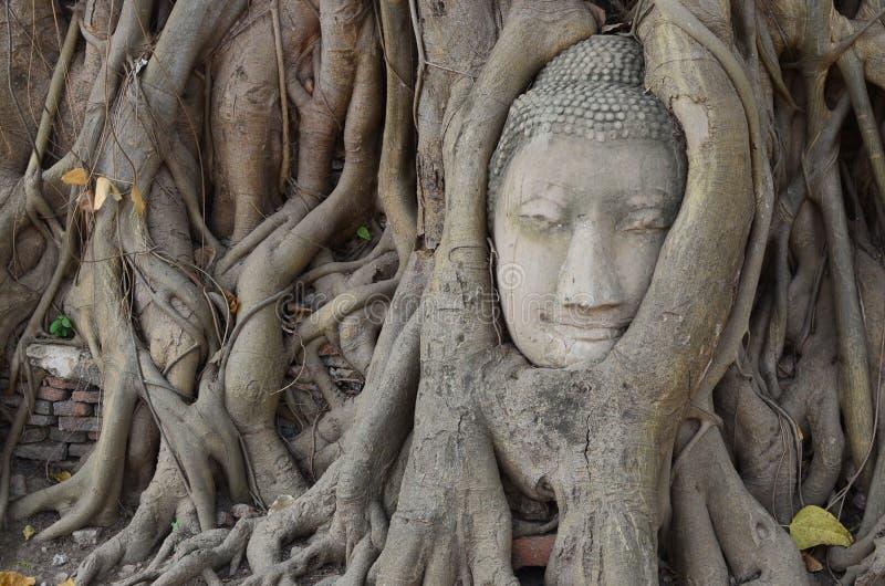Wat Mahathat, Ayutthaya foto de archivo libre de regalías
