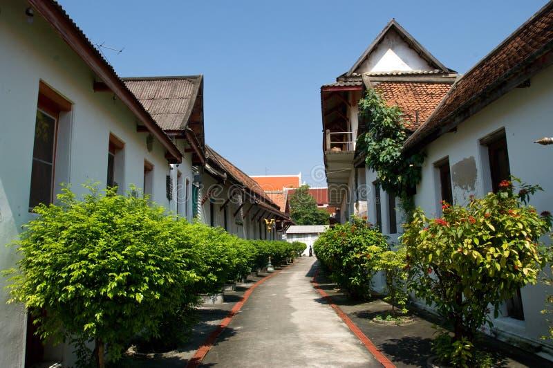 Wat Mahathat in Bangkok royalty free stock photo