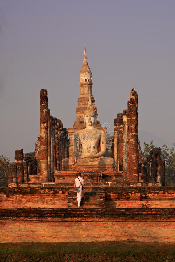 Free Wat Mahathat In Sukhothai,Thailand Royalty Free Stock Images - 15072929
