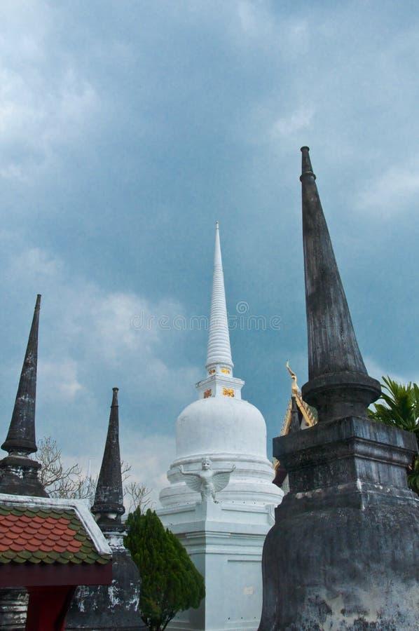 Wat Mahathat in Nakhon-Si Thammrat, Thailand royalty-vrije stock afbeeldingen