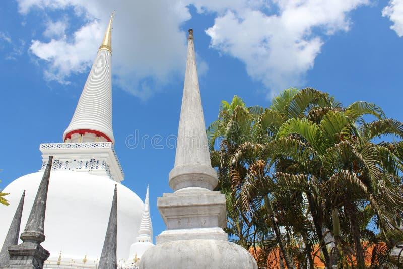 Wat Mahathat Nakorn Sri Thammarat immagini stock libere da diritti