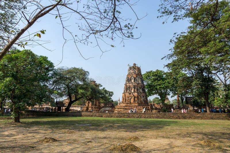 Wat Mahathat Prang imágenes de archivo libres de regalías