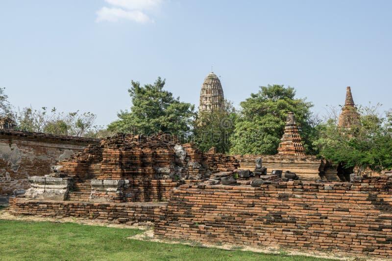 Wat Mahathat Prang foto de archivo