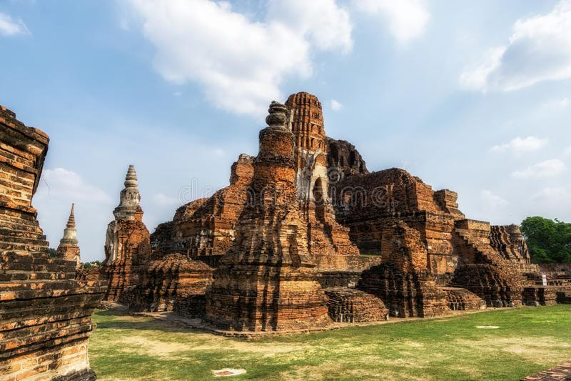Wat Mahathat Prang imagen de archivo libre de regalías