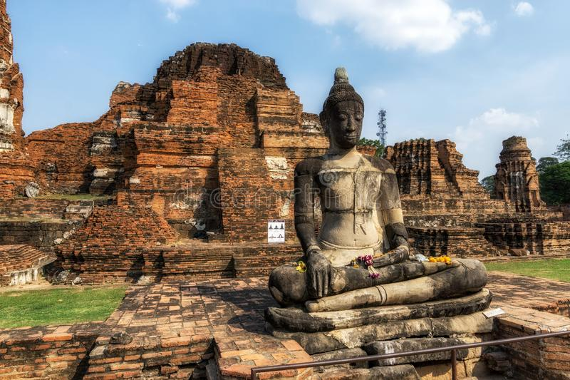 Wat Mahathat Prang fotografía de archivo