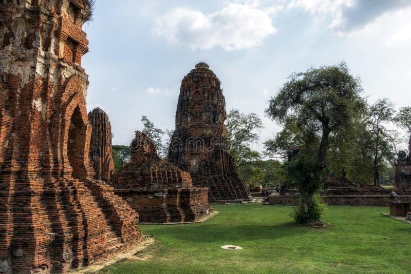 Wat Mahathat Prang fotos de archivo libres de regalías