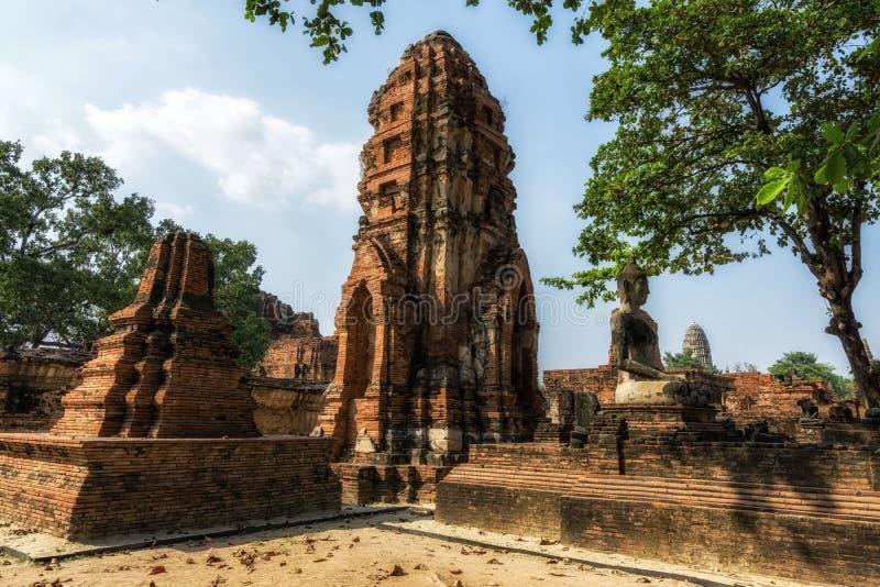 Wat Mahathat Prang fotos de archivo