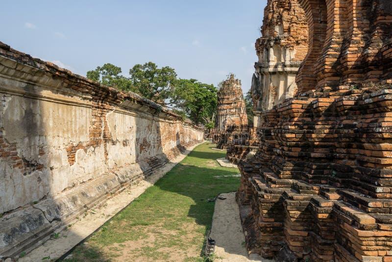 Wat Mahathat Prang imagenes de archivo