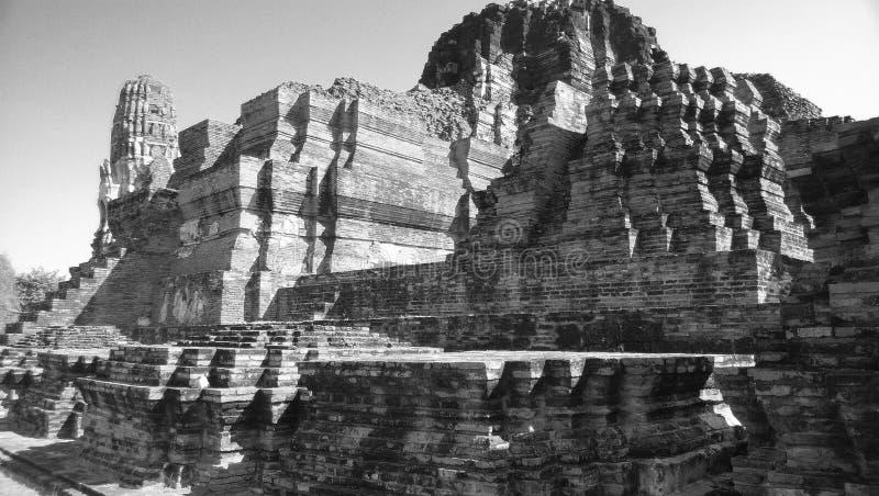Wat Mahathat Ruins foto de archivo libre de regalías