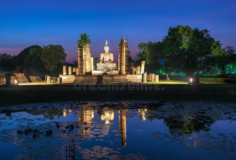 Wat Mahathat-tempel stock foto