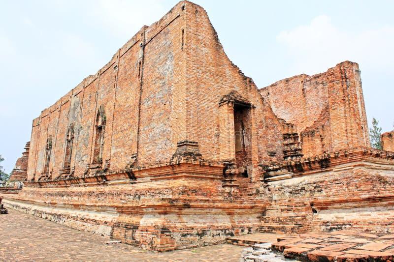 Wat Maheyong,阿尤特拉利夫雷斯,泰国 免版税库存图片