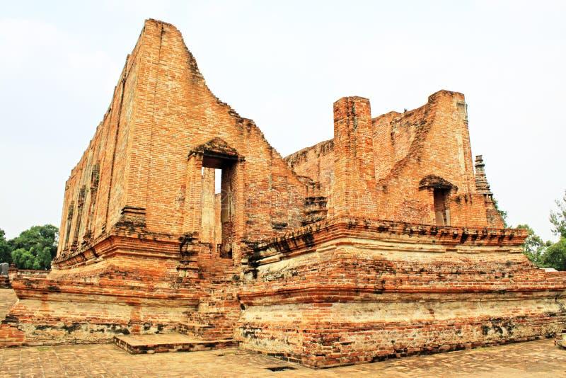 Wat Maheyong,阿尤特拉利夫雷斯,泰国 免版税图库摄影