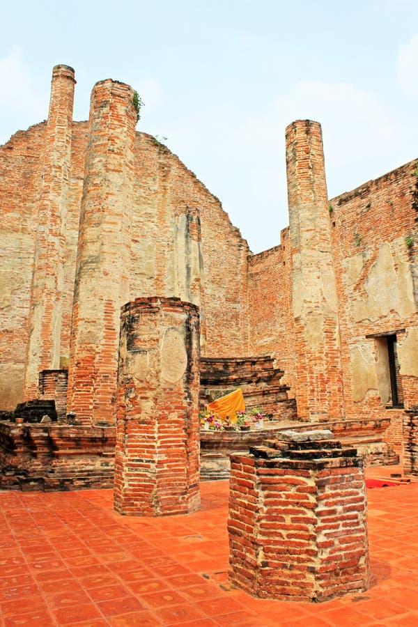 Wat Maheyong,阿尤特拉利夫雷斯,泰国 库存图片