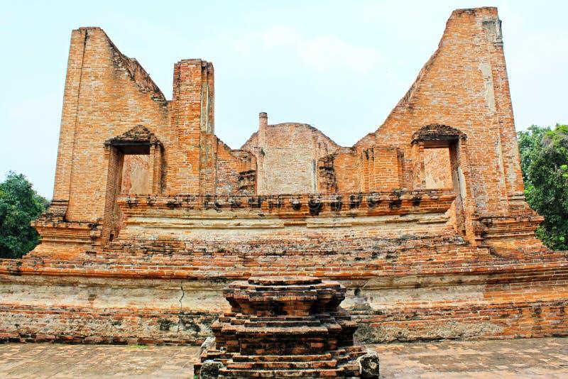Wat Maheyong,阿尤特拉利夫雷斯,泰国 库存照片